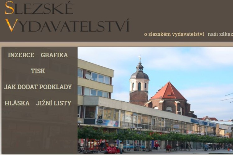 Website production Opava