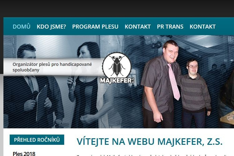 Website production Třinec