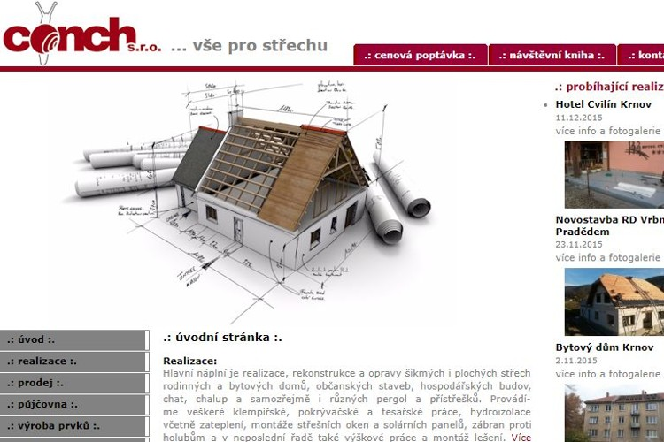 Website production Krnov
